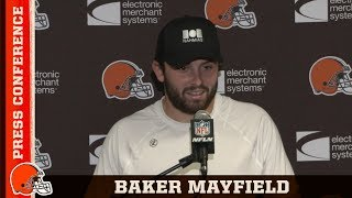 Baker Mayfield Talks Finding a Groove on Offense w/ OBJ | Browns Press Conference