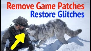 How To Remove Game Patches on PS4 and Restore Glitches: Red Dead Redemption 2 (RDR2)