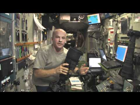 What astronauts experience during an ISS reboost