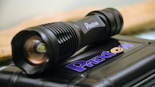 Phixton 1200lm Tactical Flashlight Review (From Amazon)