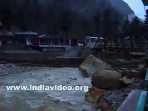 Evening at Gangotri