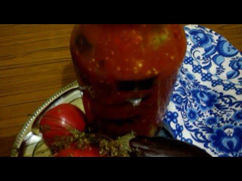 """Салат """"Баклажаны в томате"""" нравится всем без исключения!!!(без стерилизации!!!)"""