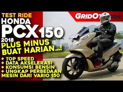 Honda PCX 150 2018 l Test Ride Review l GridOto