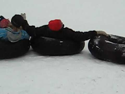 Sledding at Calumet County Park 3