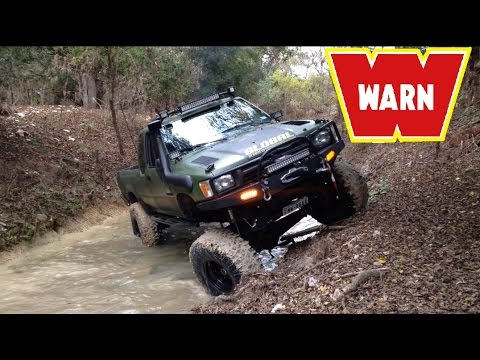 TOYOTA DIESEL-WARN VR-8000 REVIEW AND RECOVERY!