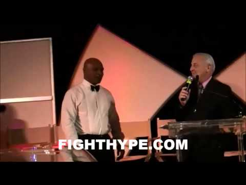 MIKE TYSON GIVES HIS NEVADA BOXING HALL OF FAME INDUCTION SPEECH
