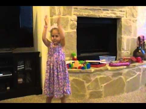 Kaylee Singing Chicken Dance video
