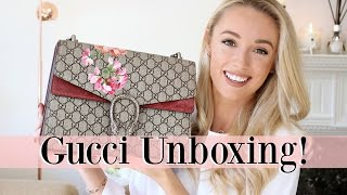 GUCCI DIONYSUS BLOOMS UNBOXING! | Fashion Mumblr