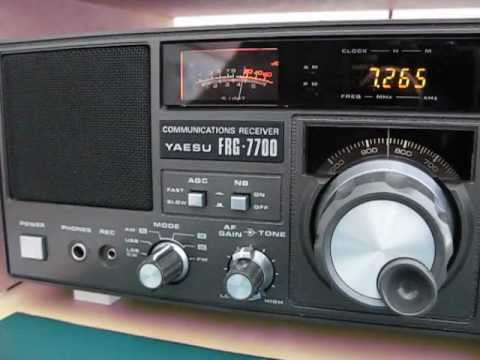 7265 khz Hamburger Lokalradio on a Yaesu FRG 7700