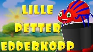 Barnesanger  på norsk - Lille Petter Edderkopp - Norske barnesanger