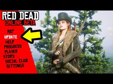NEW Update in Red Dead Online! Red Dead Redemption 2 Patch!