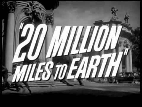 20 million miles to earth spaceship