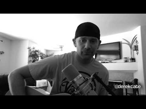 Hey pretty girl - Kip Moore (Acoustic cover by Derek Cate)