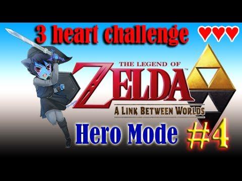 A Link Between Worlds - Hero Mode 3 Heart Challenge (Part 4) Well, that happened...