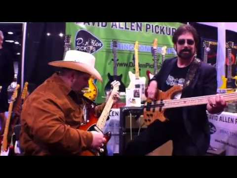 Johnny Hiland playing at NAMM 2012