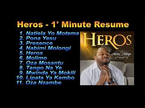 Moise Mbiye - Album Heros Mix