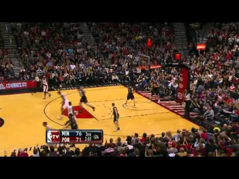 NBA Minnesota Timberwolves Vs Portland Trail Blazers Highlights Mar 3, 2012 Game Recap