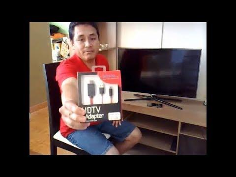Conecta tu Móvil a tu TV. del MHL al HDMI ...Muy fácil!!  (Parte 1)