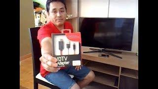 Conecta tu Móvil a tu TV con cable HDMI ...Muy fácil!!  (1° Parte)
