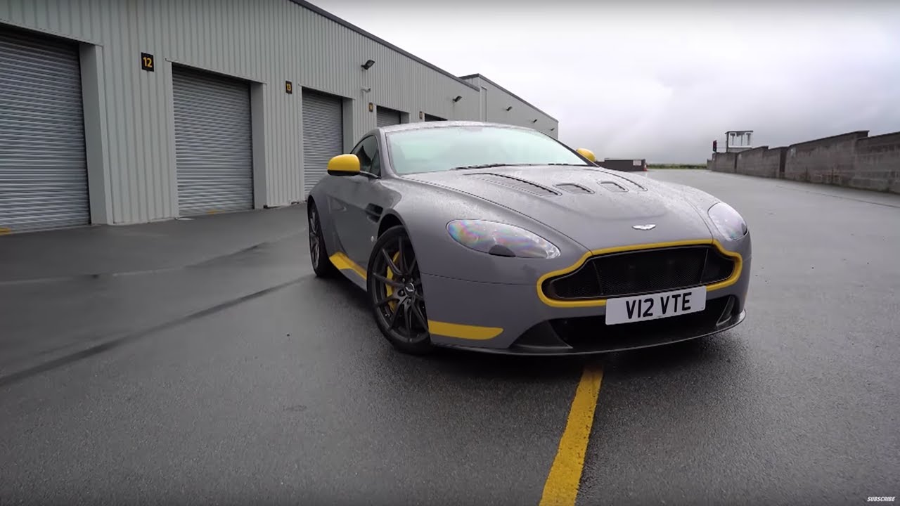 Aston V12 Vantage S vs Porsche 911 R - Chris Harris Drives - Top Gear