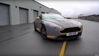 Chris Harris Drives Aston V12 Vantage S Vs Porsche 911 R | Top Gear