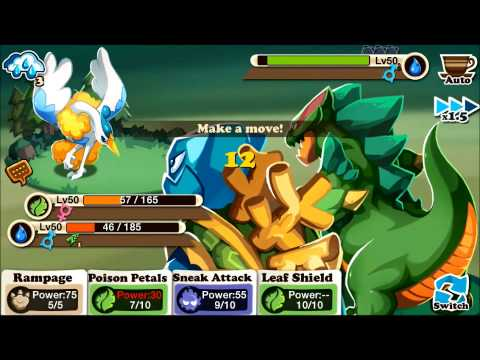 Haypi Monsters: The Lost Tower Random PvP Battles #1