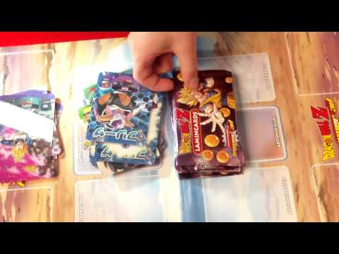 DragonBallZ Super 3D Lamincards Box Opening Deutsch(German) Part.1