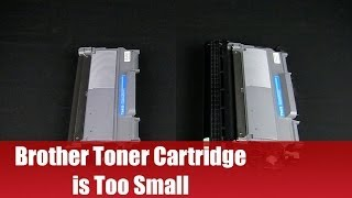 Brother Cartridge is Too Small - Solution!
