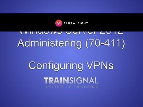 Configure remote access roles in Server 2012 for a VPN