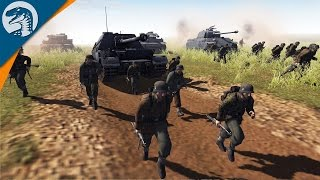 BIGGEST TANK BATTLE OF ALL TIME | RobZ Realism | Men of War: Assault Squad 2 [MOD] Gameplay