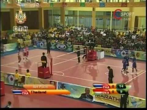 SepakTakraw SEA GAMES 2011 Thailand-Indonesia (Men's Regu)