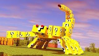 Minecraft A Série 2 #69 EMPEROR SCORPION LUCKY BLOCK CHALLENGE!