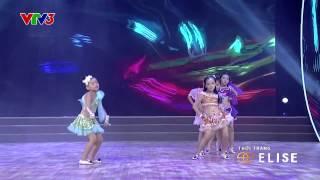 [HD - Bước Nhảy Hoàn Vũ Nhí - Vòng Loại 2014] NHÓM NĂM CÔNG CHÚA NHẢY HIỆN ĐẠI