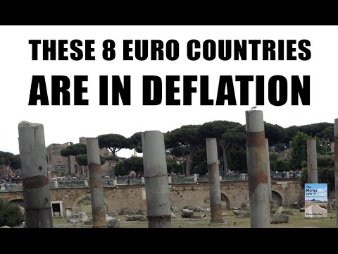 These 8 Euro Countries COLLAPSE Into DEFLATION!