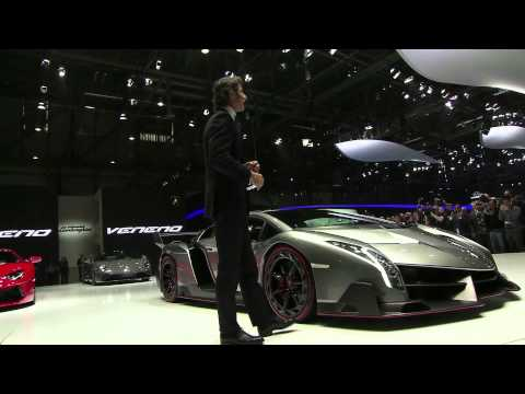 Lamborghini Veneno – Geneva Motor Show 2013 Press Conference