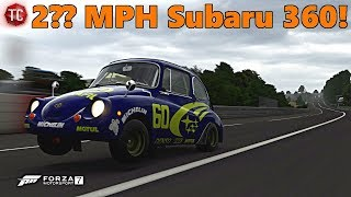 Forza Motorsport 7 | STI Swapped, MAXED OUT Subaru 360