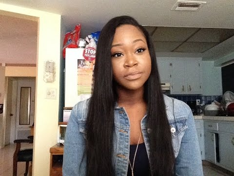 Deep Side Part Quick-Weave   MS Here Virgin Hair Company