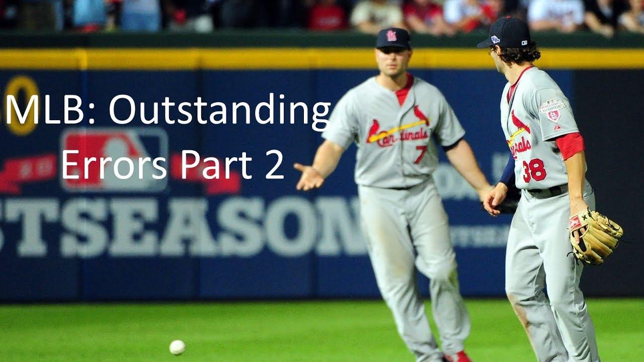 MLB: Outstanding Errors (Part 2)