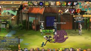 Game Cửu Vĩ Naruto Online Lv.127 And Skill Kazekage 4th