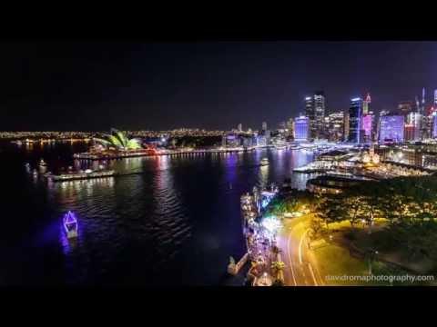 Vivid Sydney 2015 - Timelapse 4k UHD