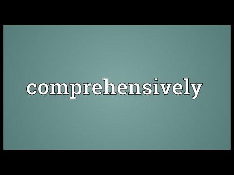 Header of comprehensively