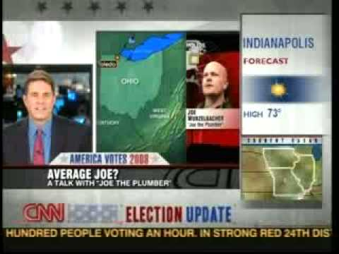 CNN anchor takes on Joe the Plumber