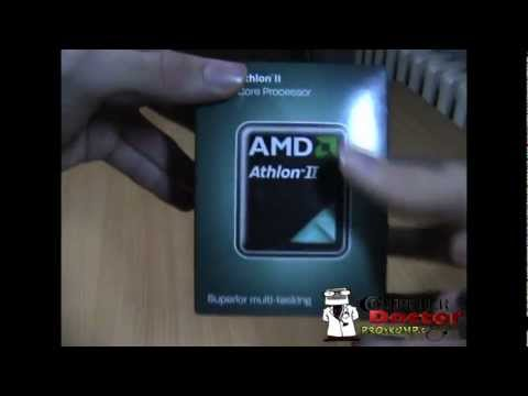 Unboxing CPU AMD Athlon II X2 270 Processor 3.4GHz / Dual-Core / 2MB