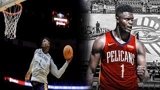 Zion Williamson has INCREDIBLE DUNKS in Pelicans Live Practice! Lonzo Ball Jump Shot is Falling!