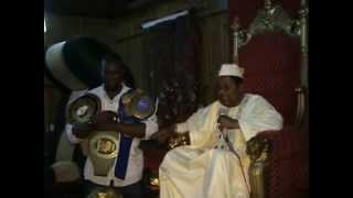 Mojeed Okedara in the palace of king Alaafin of Oyo Part 1