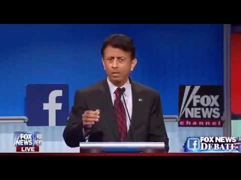 Full Bobby Jindal Answers at Republican Presidential Debate (8-6-15)