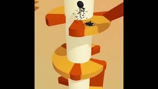 Обзор игры Helix jump для детей на смартфоне