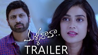 Malli Raava Movie Trailer | Sumanth, Aakanksha Singh |  #MalliRaava | Latest Telugu Trailers 2017