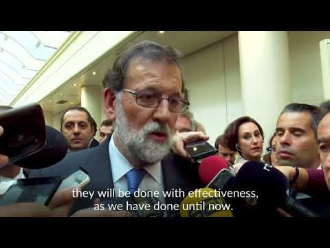 Spain's Rajoy urges calm after Senate approves direct rule over Catalonia