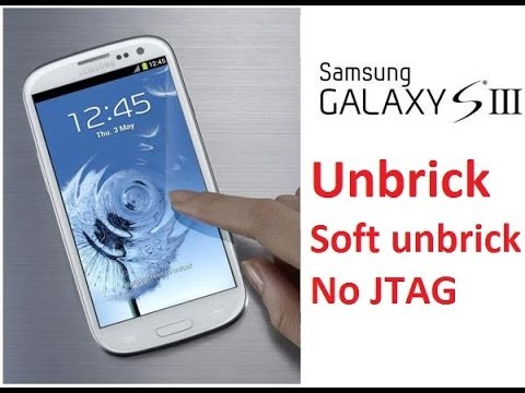 Unbrick Galaxy S3 i747M v.4.3 - easy method using SD card & debrick image